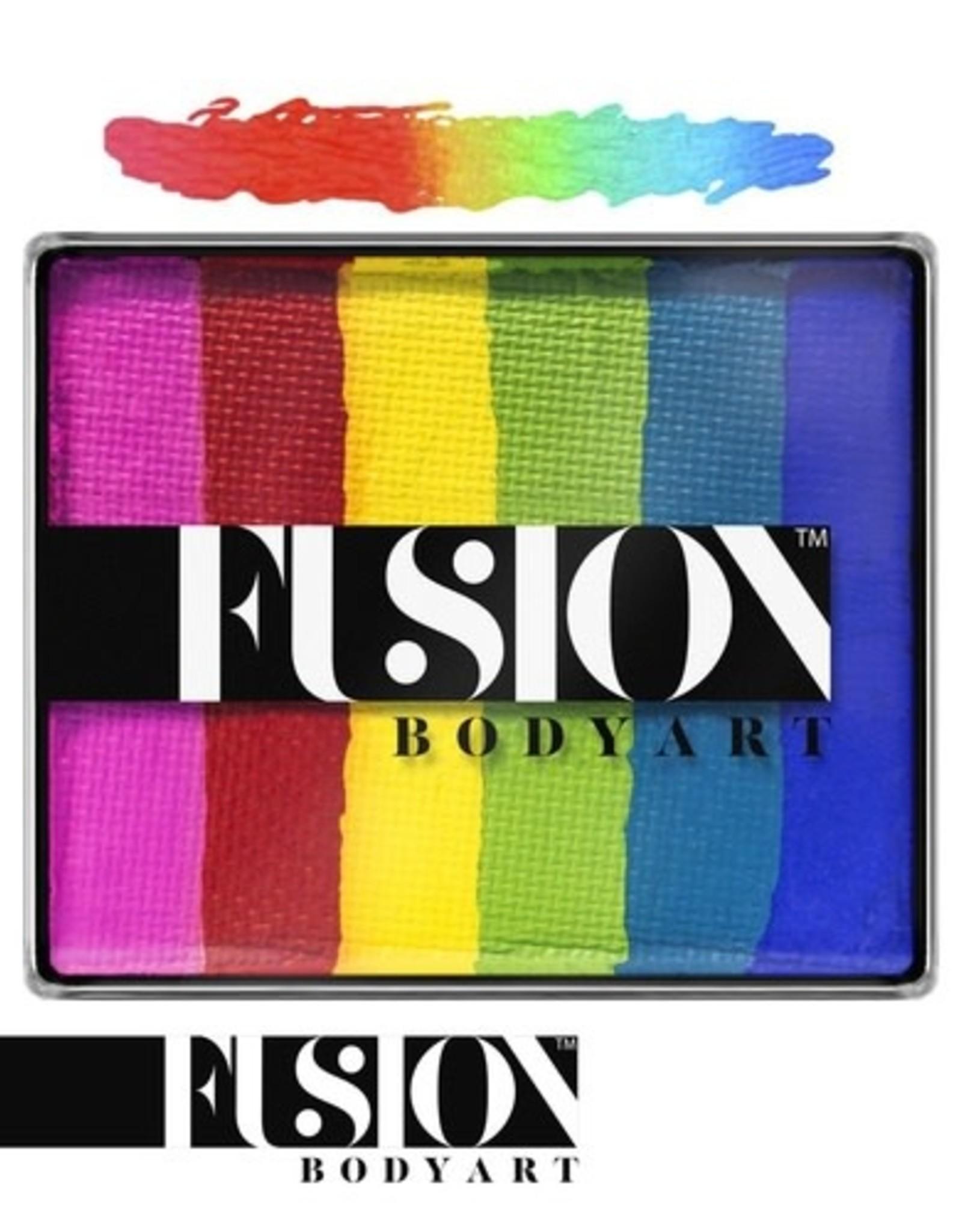 Fusion Fusion Splitcake Bright Rainbow 50g