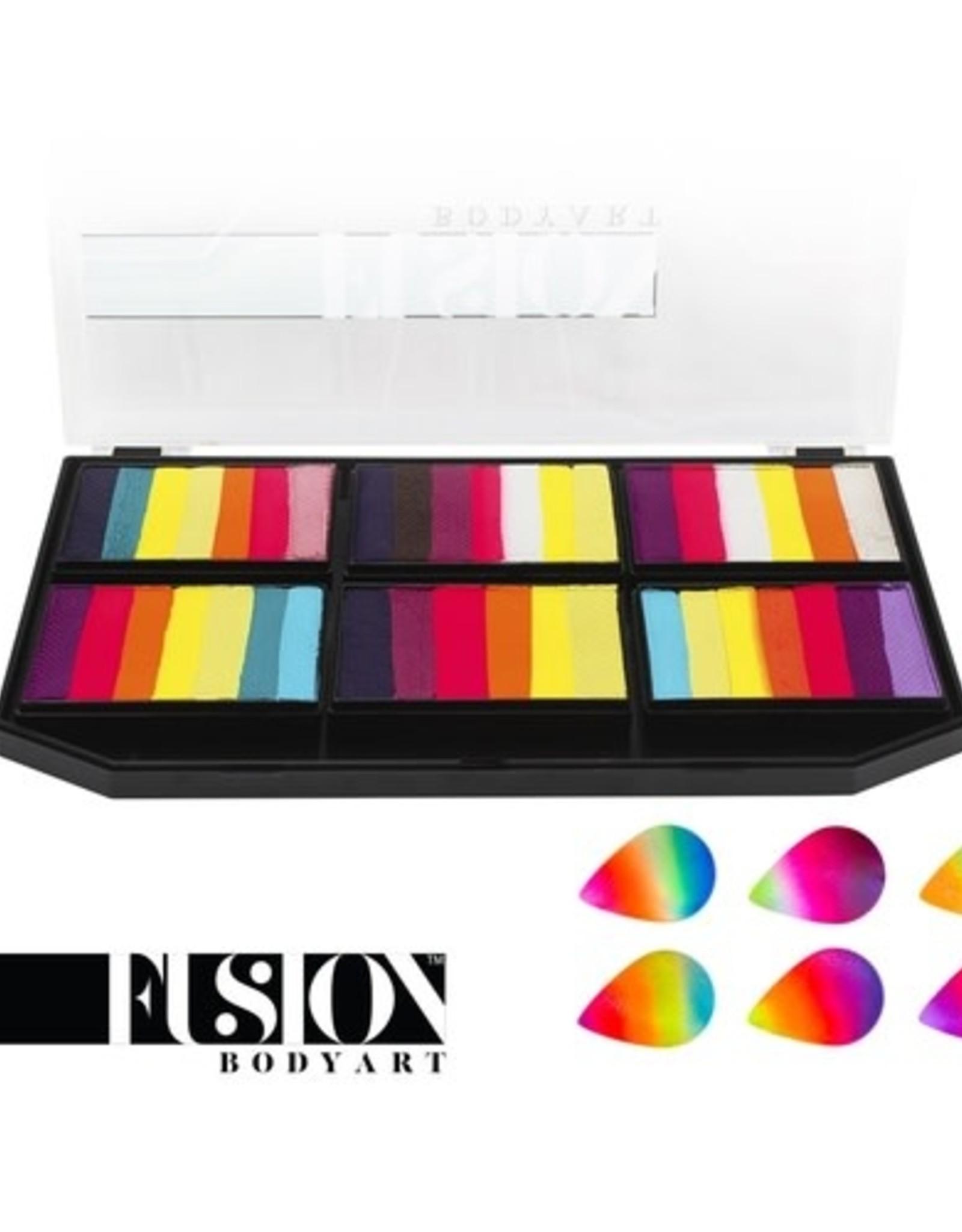 Fusion Fusion Leanne's Vivid Rainbow - Petal Palette fx 150g