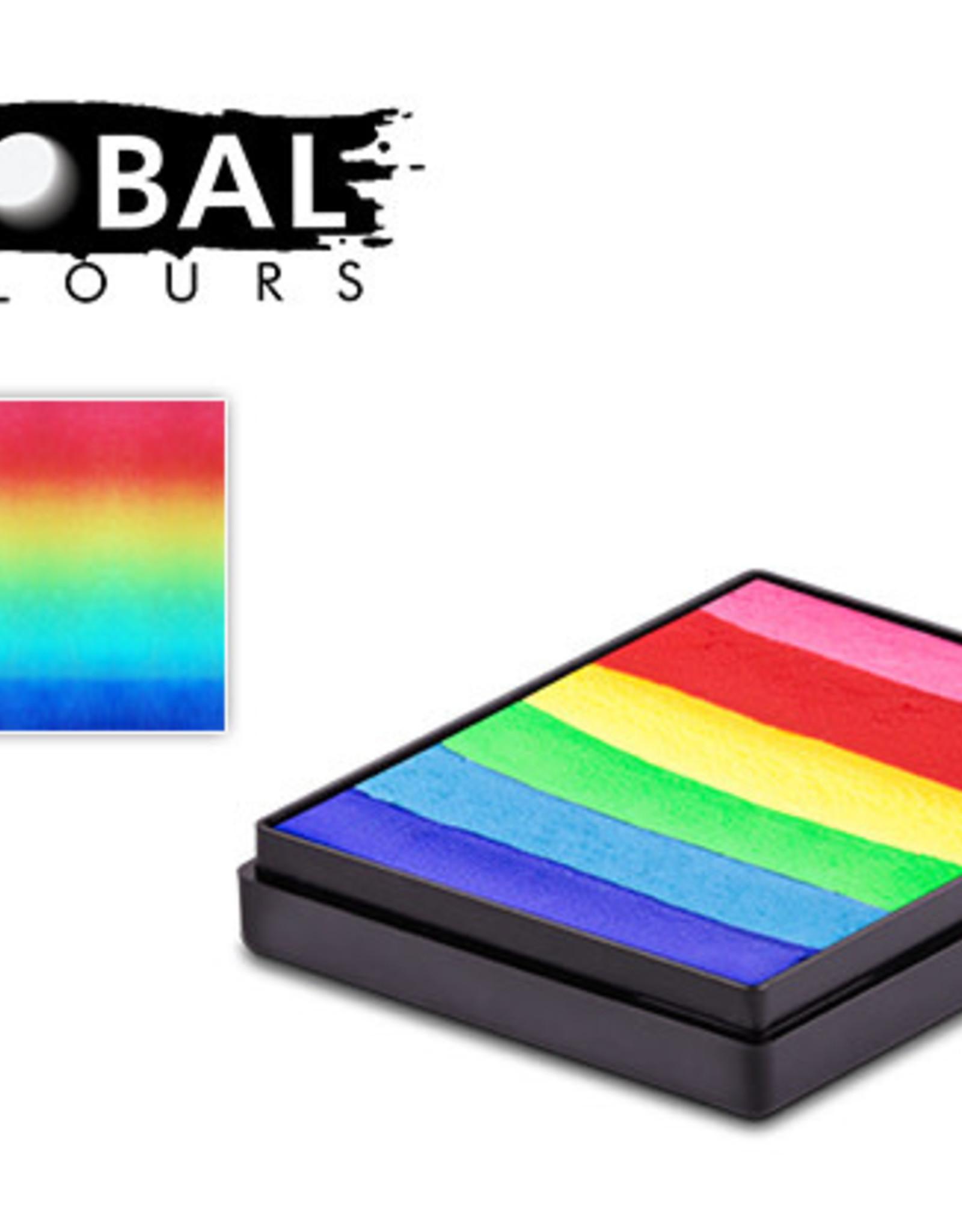 Global Global Splitcake Bright Rainbow 50g