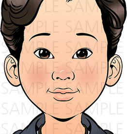 Sparkling Faces Sparkling Faces - Practice Board Kai Size A4 (8,27 x 11,69 inch)