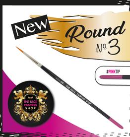 Pink Tips Pink Tips Brush -  round 3