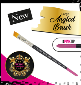 Pink Tips Pink Tips Brush - angled brush large