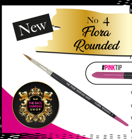 Pink Tips Pink Tips Brush - flora rounded 4