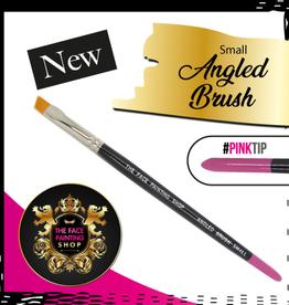Pink Tips Pink Tips Brush - angled brush small