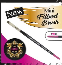 Pink Tips Pink Tips Brush - mini filbert brush