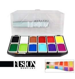 Fusion Fusion - Sampler Face Painting Palette 84g