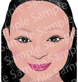 Sally-Ann  Lynch Sally-Ann Lynch - Daisy Front Face Practice Board A4