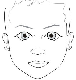 Sally-Ann  Lynch Sally-Ann Lynch - kind ogen open Practice Board A4