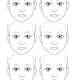 Sally-Ann  Lynch Sally-Ann Lynch - kids 6 portrait Practice Board A2