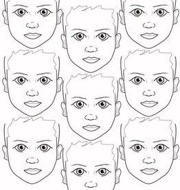 Sally-Ann  Lynch Sally-Ann Lynch - kids 9 portrait Practice Board A2