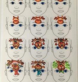 Sally-Ann  Lynch Sally-Ann Lynch - kids 12 portrait Practice Board A2