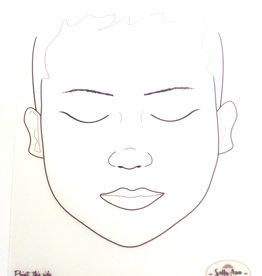 Sally-Ann  Lynch Sally-Ann Lynch - kind ogen gesloten Practice Board A4