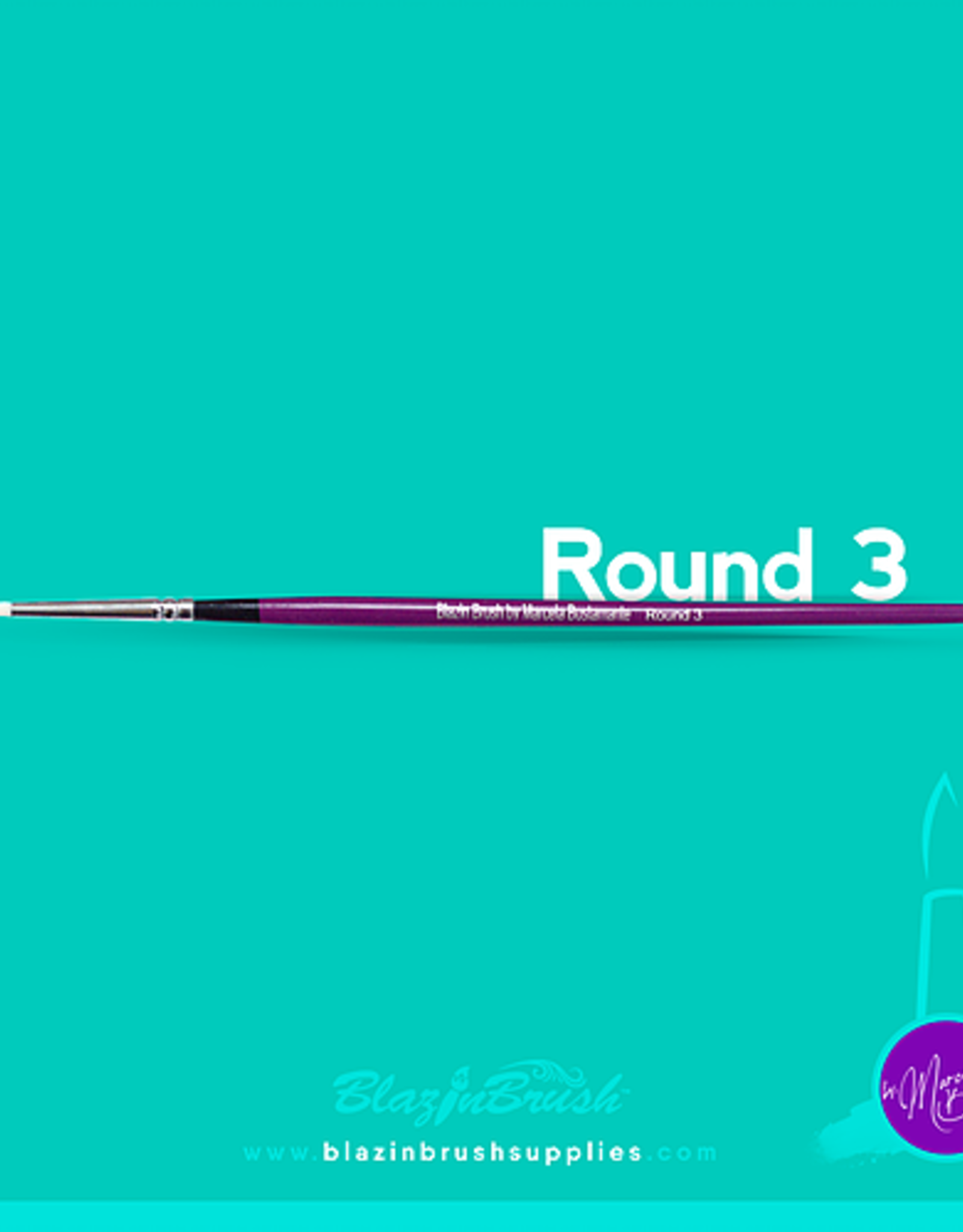 BlazinBrush BlazinBrush - Round 3