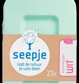 Seepje SEEPJE - wasmiddel Vrij en blij geur Wit 1.15l