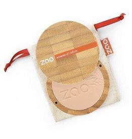 Zao ZAO Bamboe Compact poeder 302 (Beige Orange)