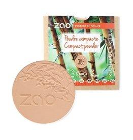 Zao ZAO Refill Compact poeder 303 (Brown Beige)
