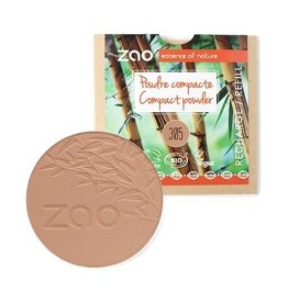 Zao ZAO Refill Compact poeder 305 (Milk chocolate)