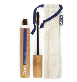 Zao ZAO Bamboe Mascara Aloë Vera 091 (Dark Brown) 7ml
