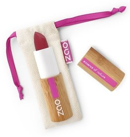 Zao ZAO Bamboe Soft Touch Lippenstift 436 (Red Purple) 3.5 Gram