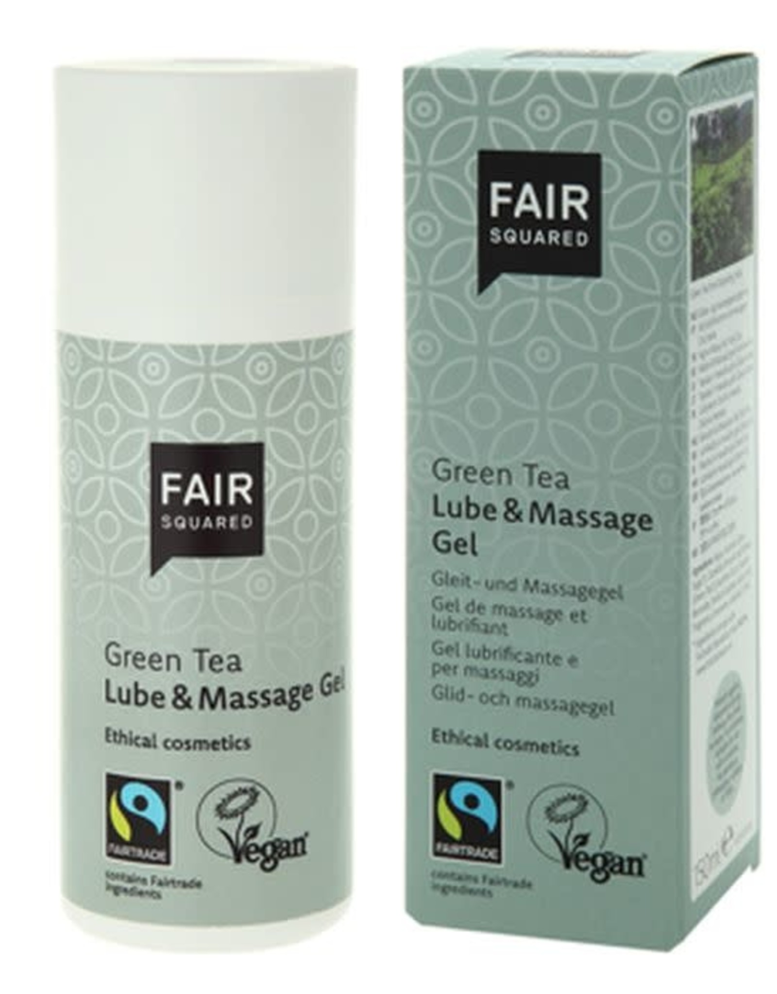 FairSquared FairSquared - Glijmiddel & Massage-olie - Green Tea - 150 ml