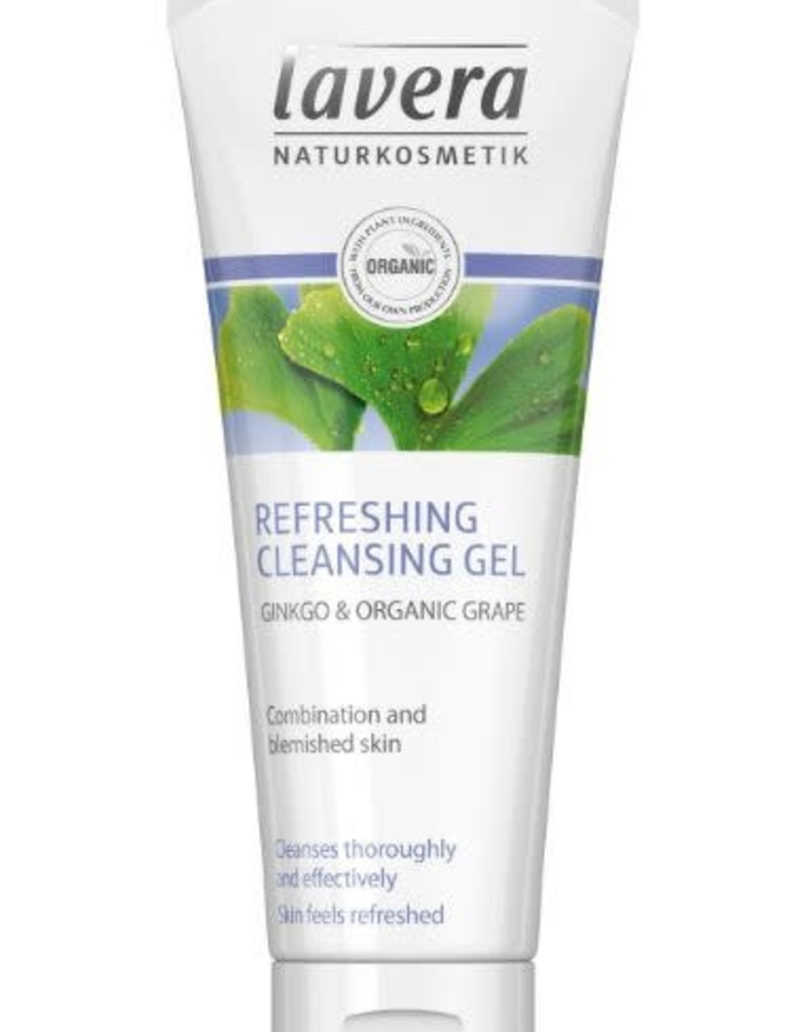 Lavera Lavera Reinigingsgel/cleansing gel refreshing - Gingko & Organic Grape 100ml