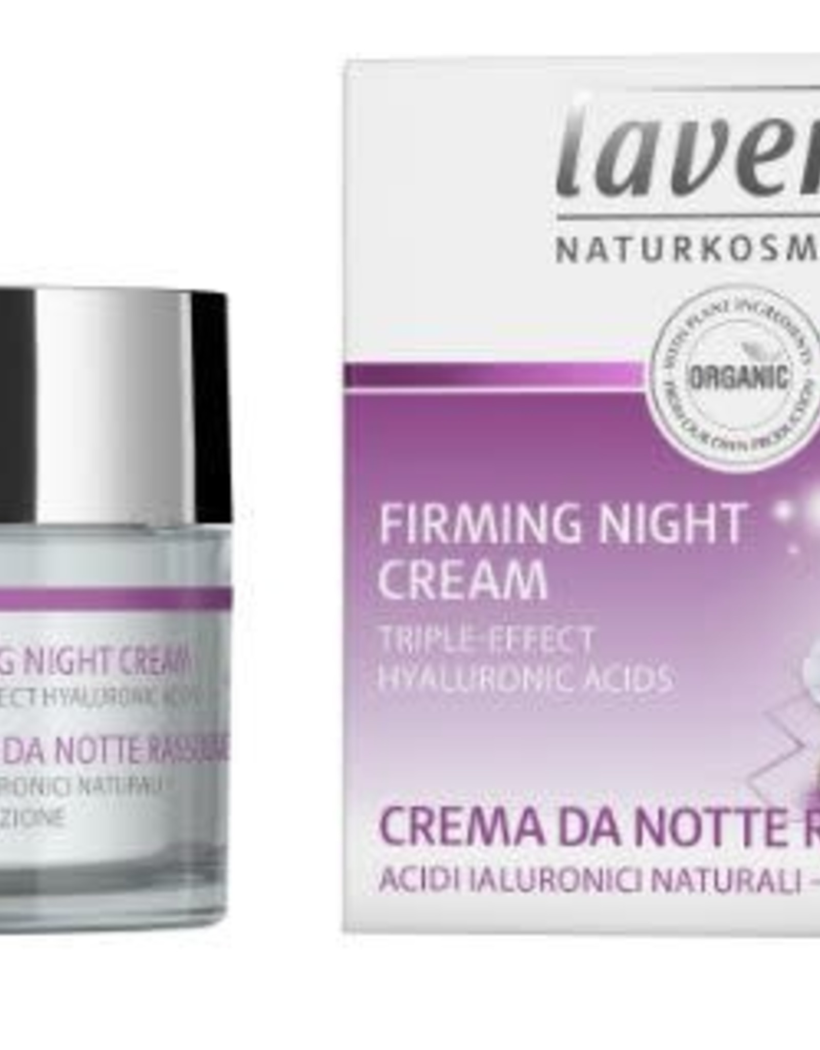 Lavera Nachtcreme/night cream firming karanja 50 ml