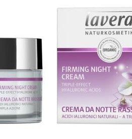 Lavera Nachtcreme/night cream firming karanja 50 ml