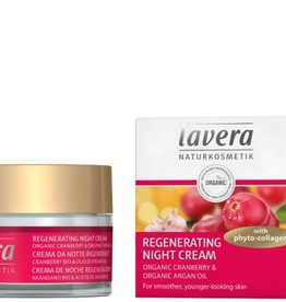 Lavera Nachtcreme/night cream regenerating cranberry 50 ml