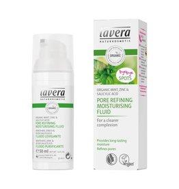 Lavera Pore Refining Moisturising Fluid Mint 50 ml