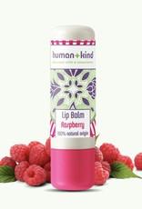 human+kind Lip Balm Raspberry Vegan 4.7g