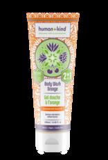 human+kind 2 in 1 Bodywash Orange Vegan 250ml