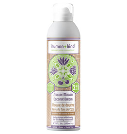 human+kind Foam Shower Coconut Dream Vegan 200 ml
