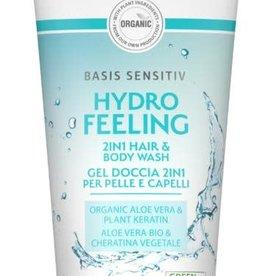 Lavera Basis Sensitiv douchegel/body wash 2 in1 200 ml