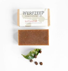 Werfzeep Werfzeep - Koffiescrub 100g