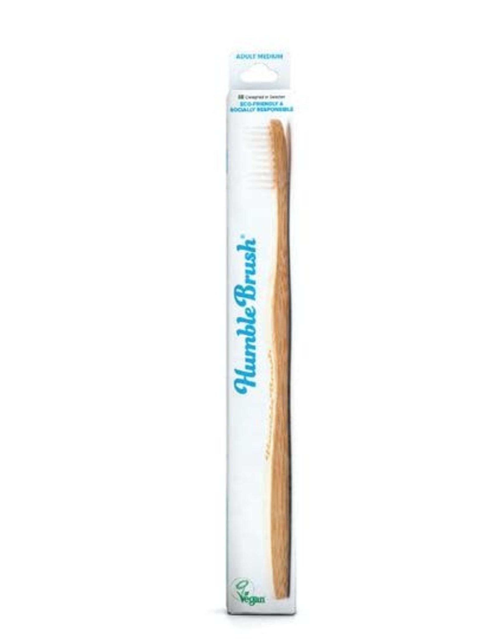 The Humble Co. Humble Brush Toothbrush White Medium