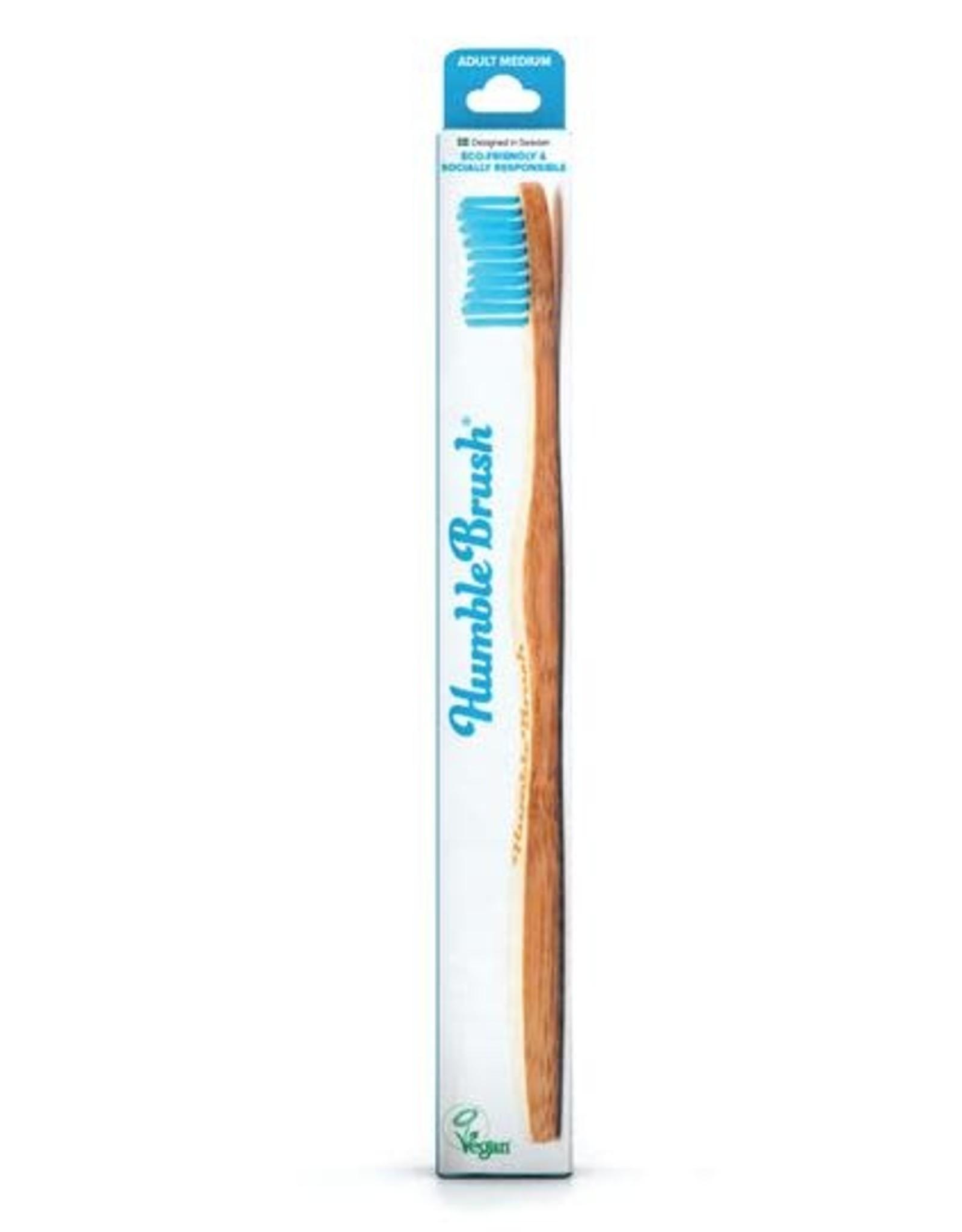 The Humble Co. Humble Brush Toothbrush Blue Medium