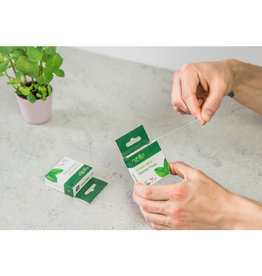 Nordics Flosdraad van maiszetmeel fresh mint vegan 50m