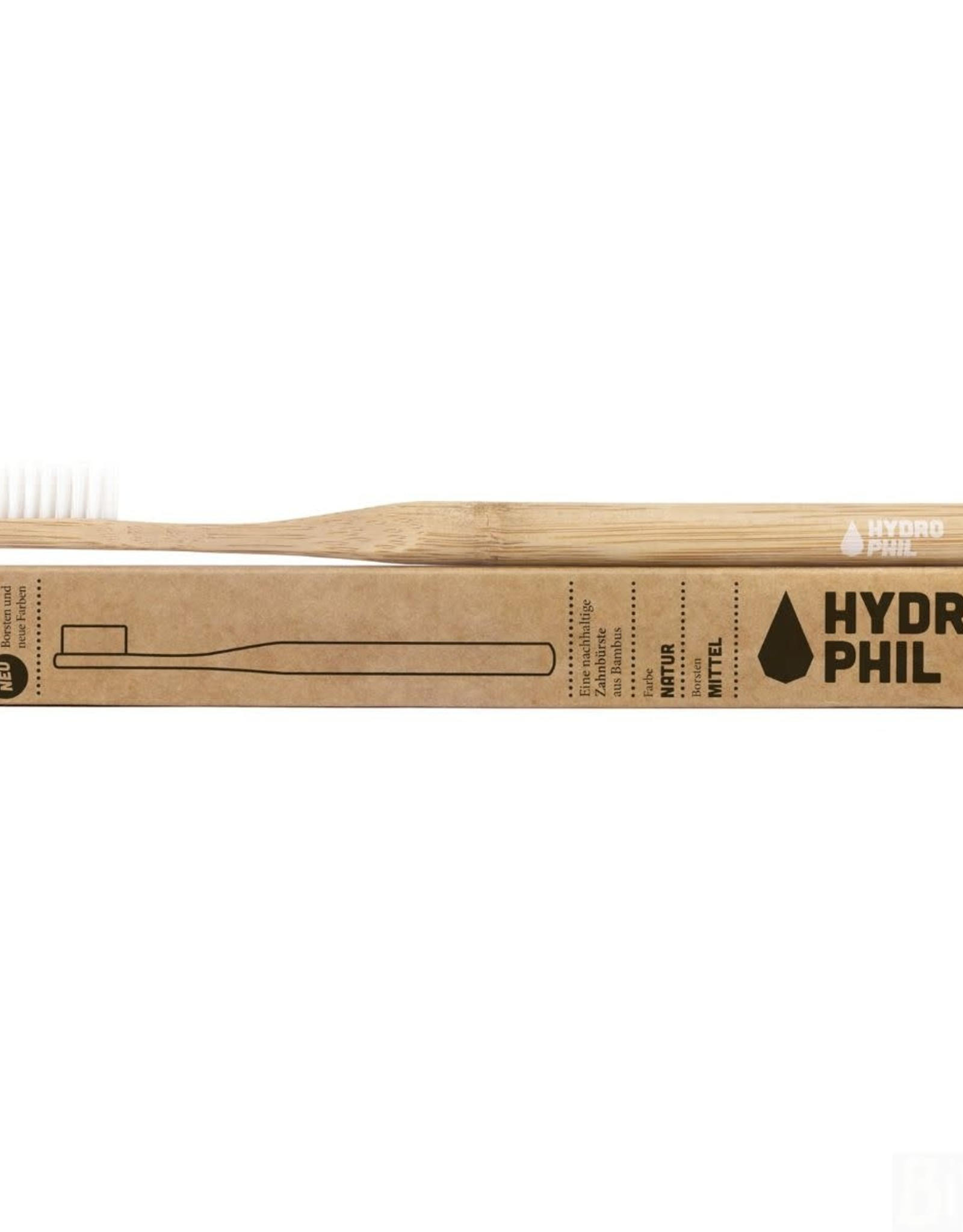 Hydrophil Hydrophil Bamboo Toothbrush Natural Medium