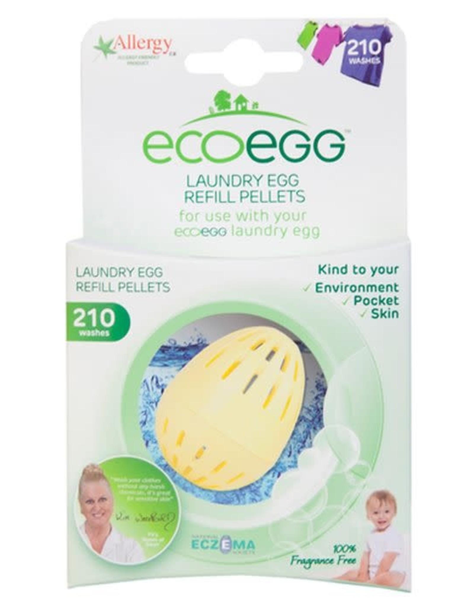 Ecoegg ecoegg Laundry Egg Refill Pellets Fragrance free 210 washes