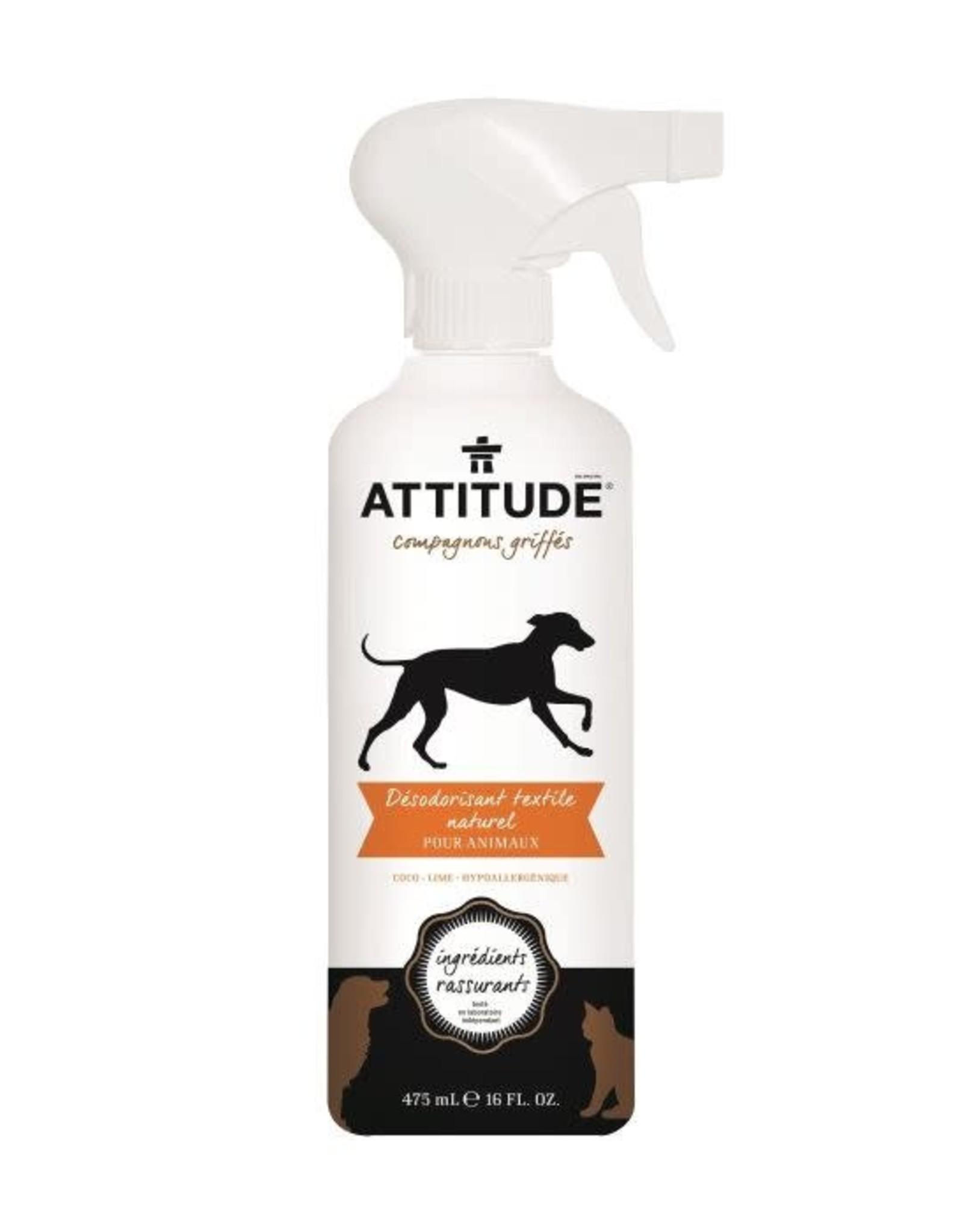 Attitude Attitude Furry Friends - Fabric Refresher Coconut Lime 475ml