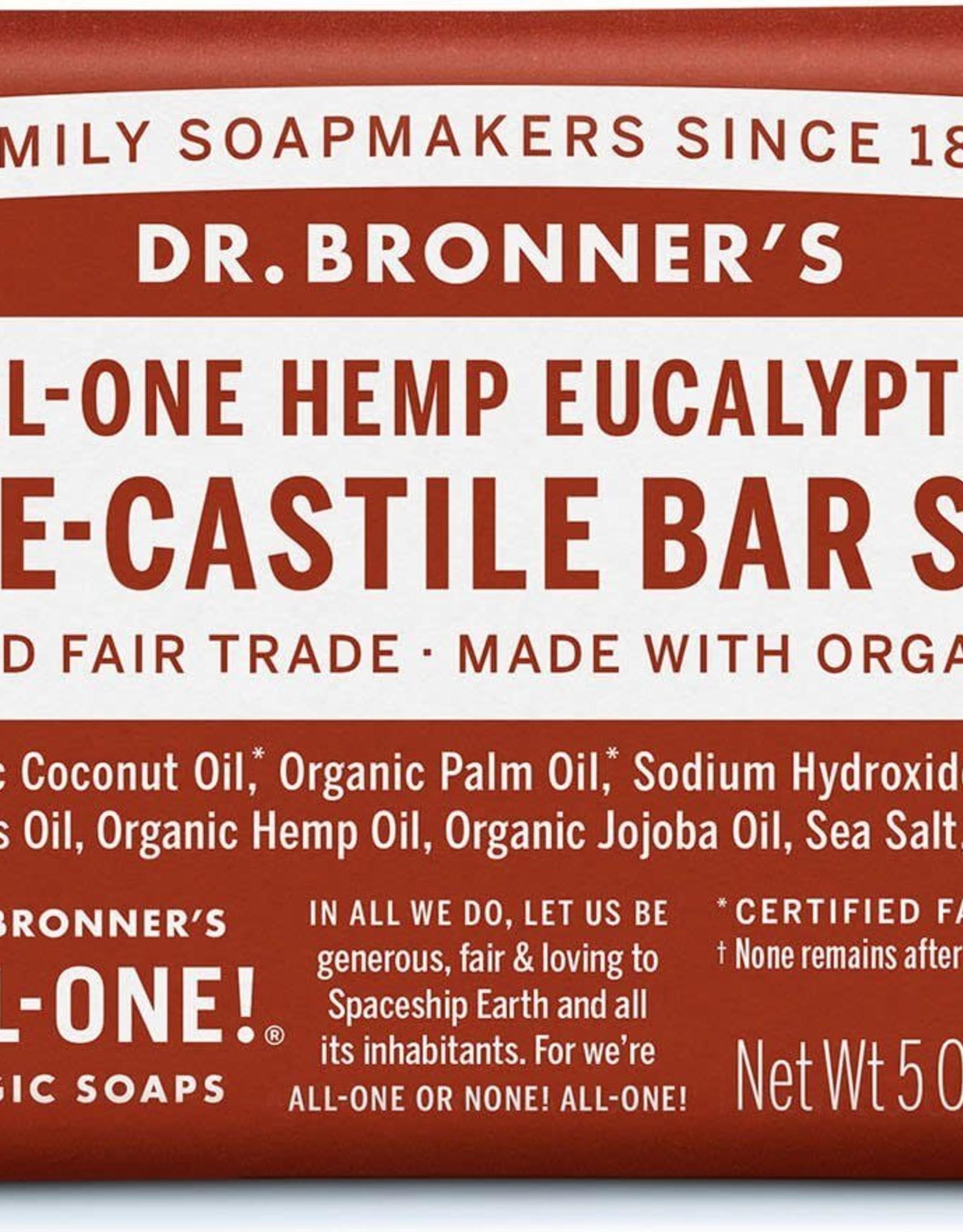 Dr. Bronner Dr. Bronner's - soap bar Eucalyptus 140g