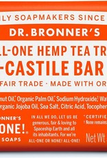 Dr. Bronner Dr. Bronner's - soap bar Tea Tree 140g