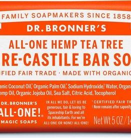 Dr. Bronner Dr. Bronner's - soap bar Tea Tree 140g