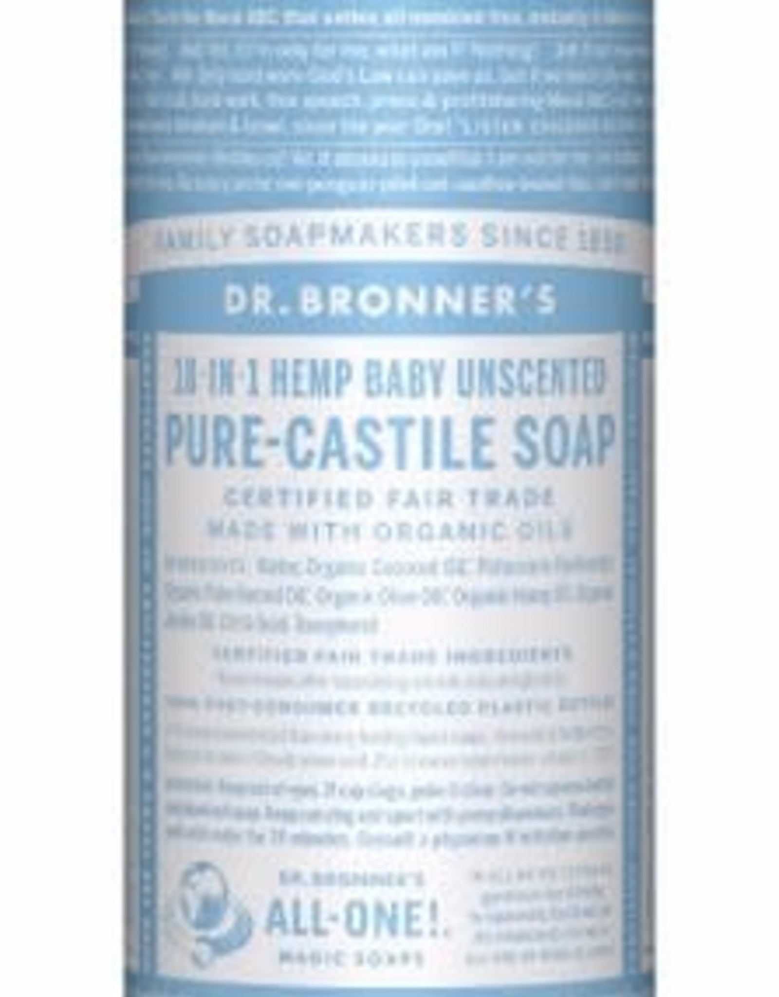 Dr. Bronner Dr. Bronner's - liquid soap Baby Unscented 944ml