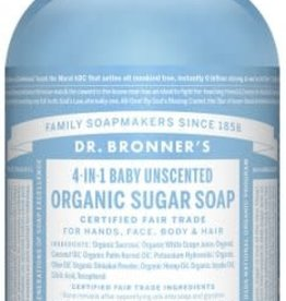 Dr. Bronner Dr. Bronner's - liquid soap Baby Unscented 355ml