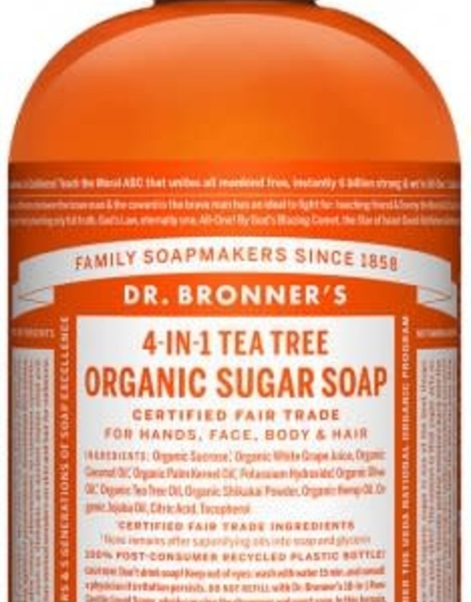 Dr. Bronner Dr. Bronner's - liquid soap Tea Tree 355ml