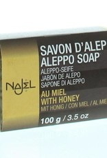 Najel Aleppo zeep olijf honey 100g