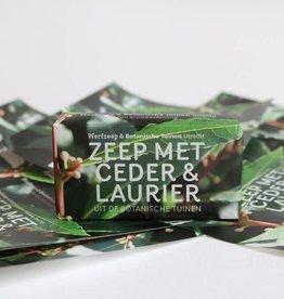 Werfzeep Werfzeep - Ceder & Laurier 100g