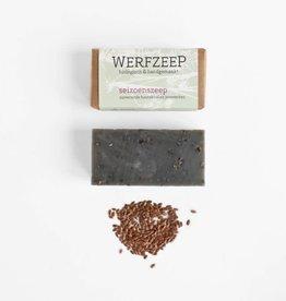 Werfzeep Werfzeep - seizoenszeep zuiverende houtskool & jeneverbes 100g