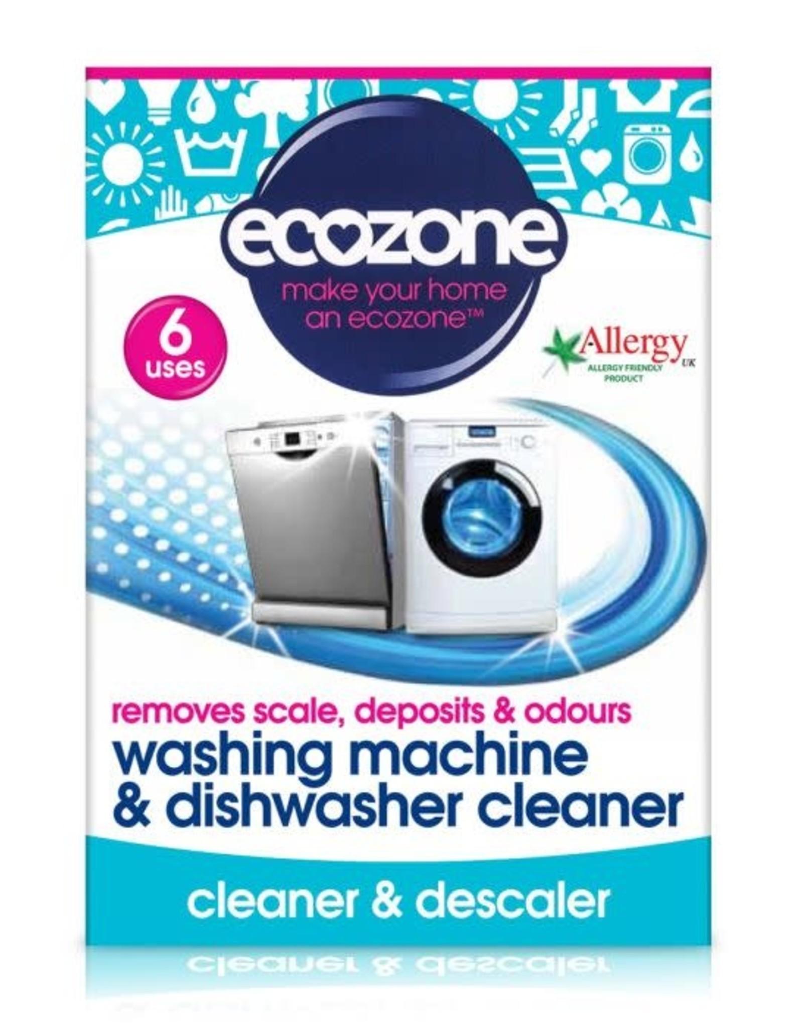 Ecozone Wasmachine en vaatwasser cleaner - 6 stuks